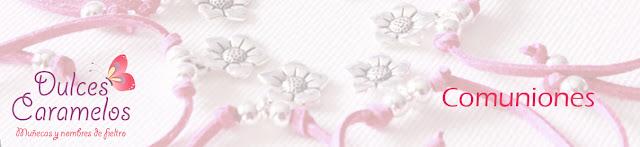 Detalles invitadas y regalos comuniones dulces caramelos