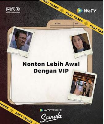 Cara Beli Fast Track WeTV Film Sianida Series Episode Terbaru Nonton Lebih Cepat Bayar Pakai Pulsa VIP