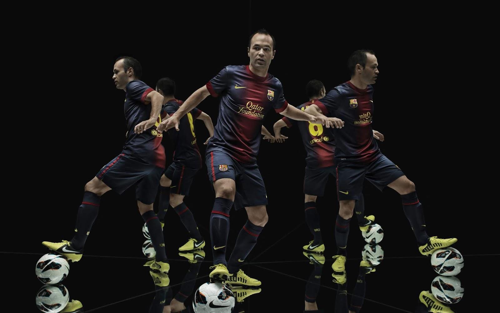 Andres Iniesta, Spanish Footballer, FC Barcelona, 4K, Sports