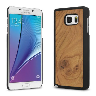 Cover-Up WoodBack Real Wood Case Samsung Note 5
