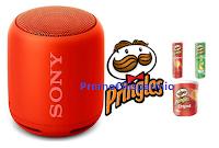 Logo Kelloggs Acquista Pringles e vinci uno speaker Sony : 32 premi da 115 euro ciascuno