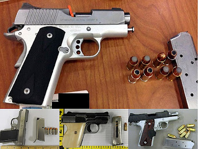 Guns Discovered at (L-R) ATL, MDW, LIT, MSP