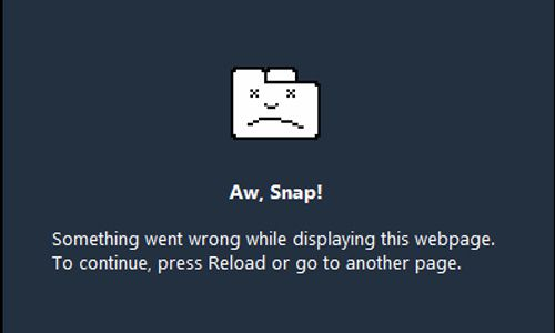 Cara Mengatasi Google Chrome Error 'Aw Snap'