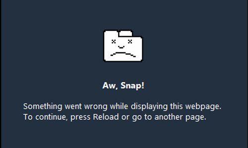 Cara Mengatasi Google Chrome Error 'Aw Snap'