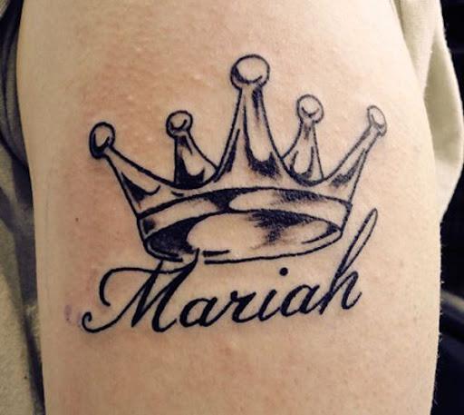 Tatuagens nomes coroa