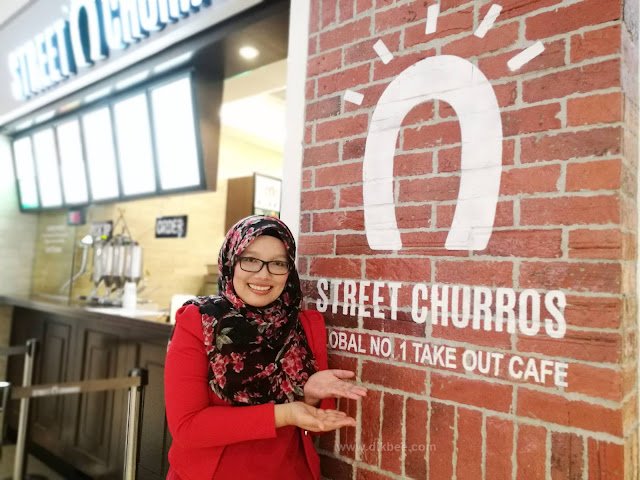 Street Churros Outlet Ke-7 Di SOGO KL