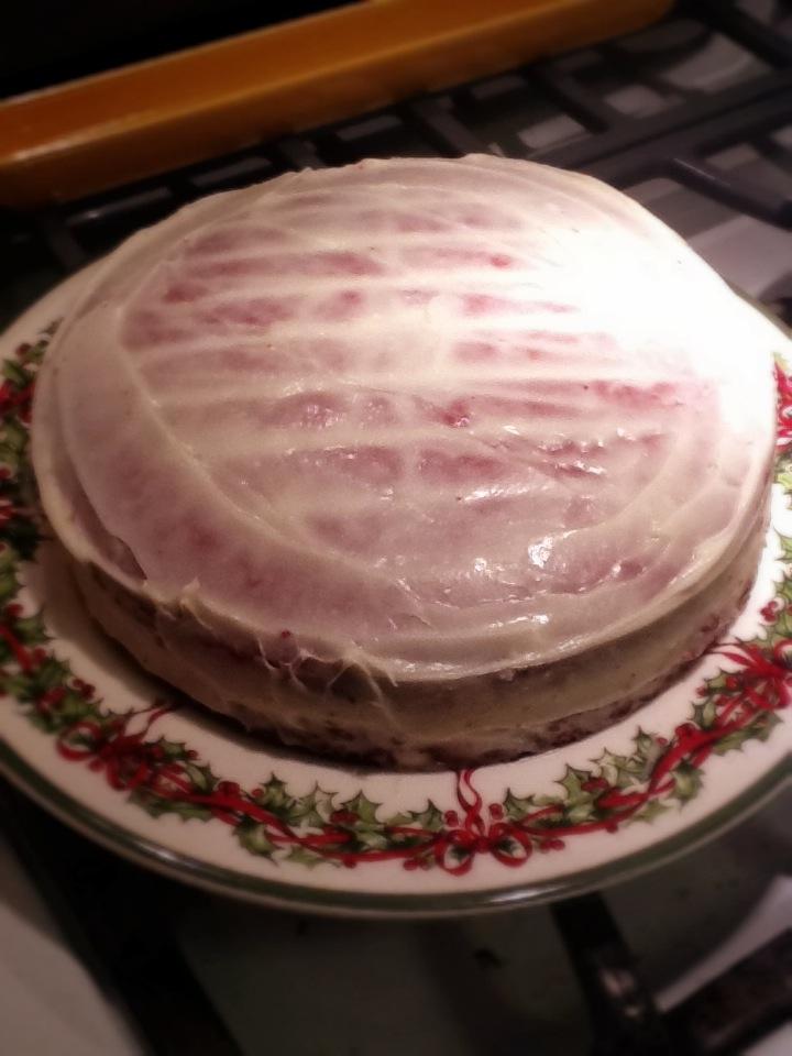 Three Layer Mousse Cake
