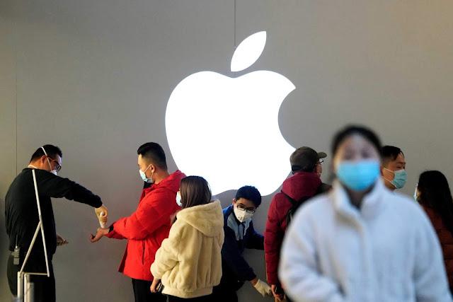 انخفاض مبيعات الهواتف الذكية في الصين بسبب فيروس كورونا