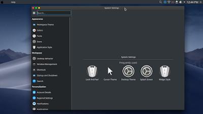 Membuat Tampilan Kali Linux Menjadi Mac OS Mojave - Mengubah Thema