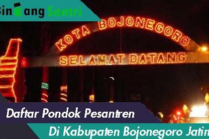 Daftar Pondok Pesantren Di Kabupaten Bojonegoro