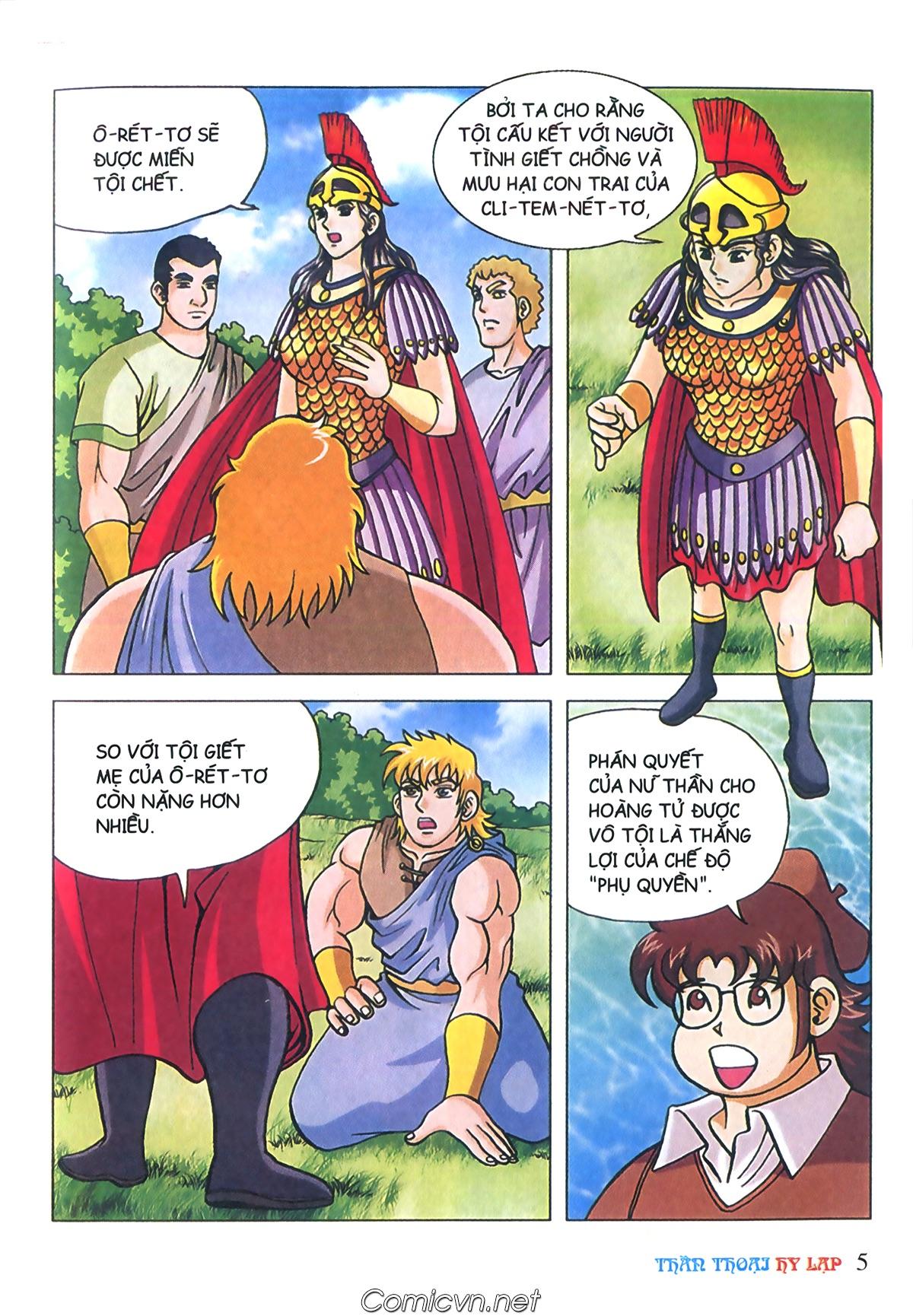 Thần Thoại Hy Lạp Màu - Chapter 72: Phán quyết của Nữ thần Athena - Pic 4