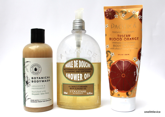 one little vice beauty blog: natural vegan paraben free body care for summer
