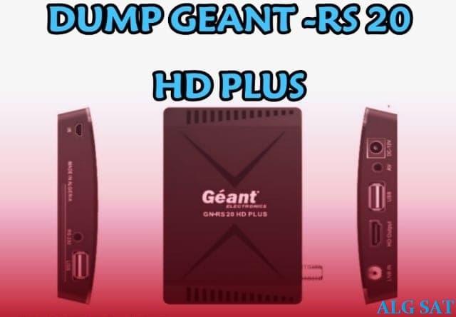 دامب أصلي لجهاز جيون DUMP GEANT-RS 20 HD PLUS