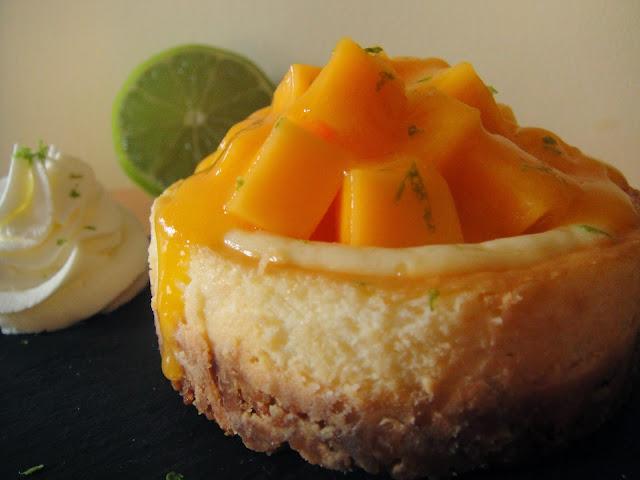 Ar me framboises cheesecake fruit de la passion mangue chantilly au citron vert recette de - Cheesecake fruit de la passion ...