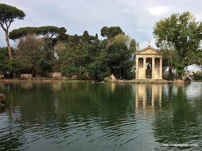 Descobrindo Roma - Villa Borghese
