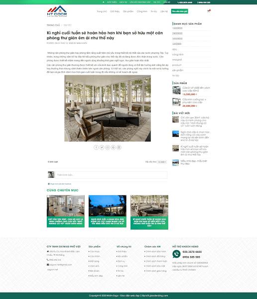 Theme blogspot bán vật liệu xây dựng