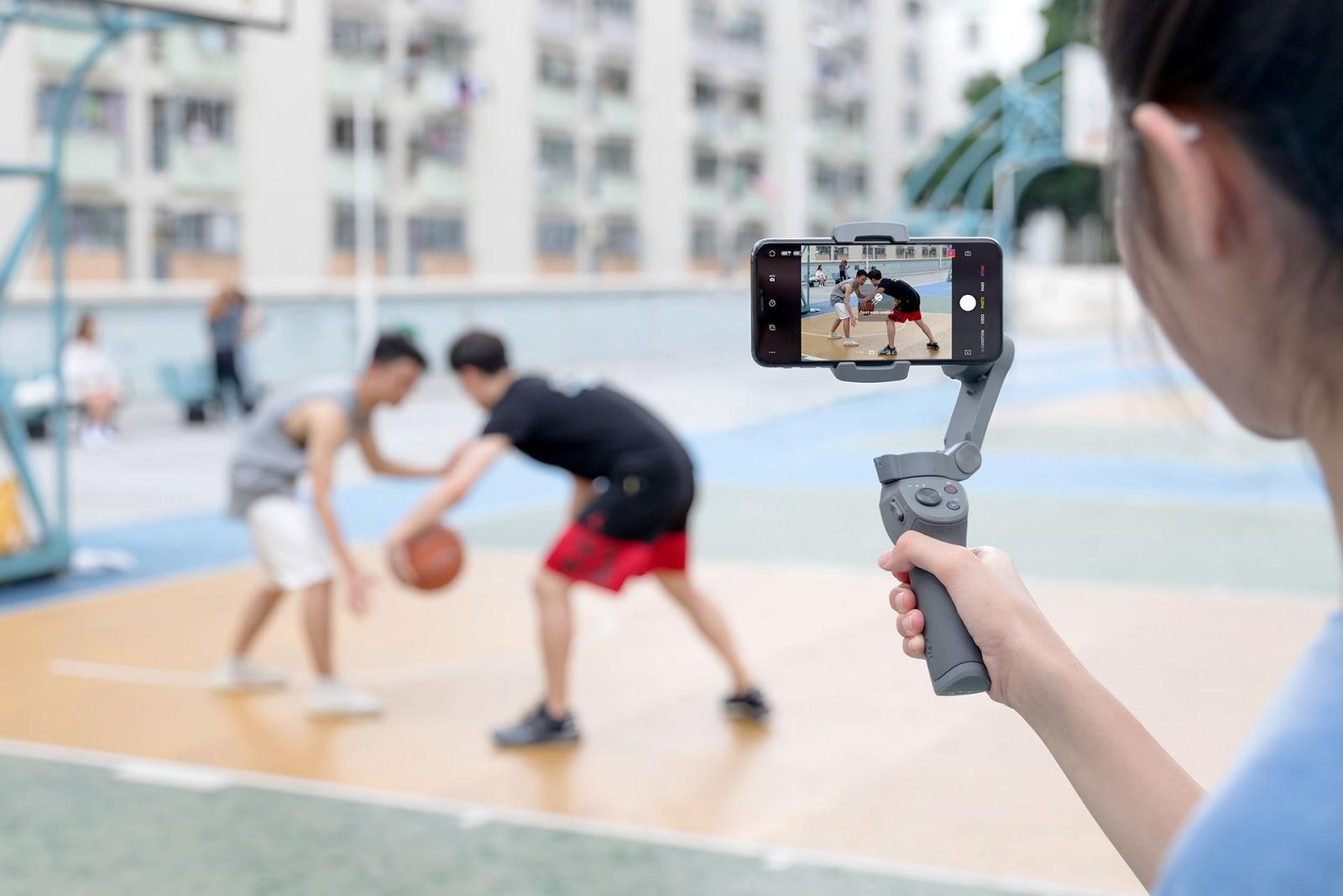 Использование DJI Osmo Mobile 3 для съемки со смартфоном
