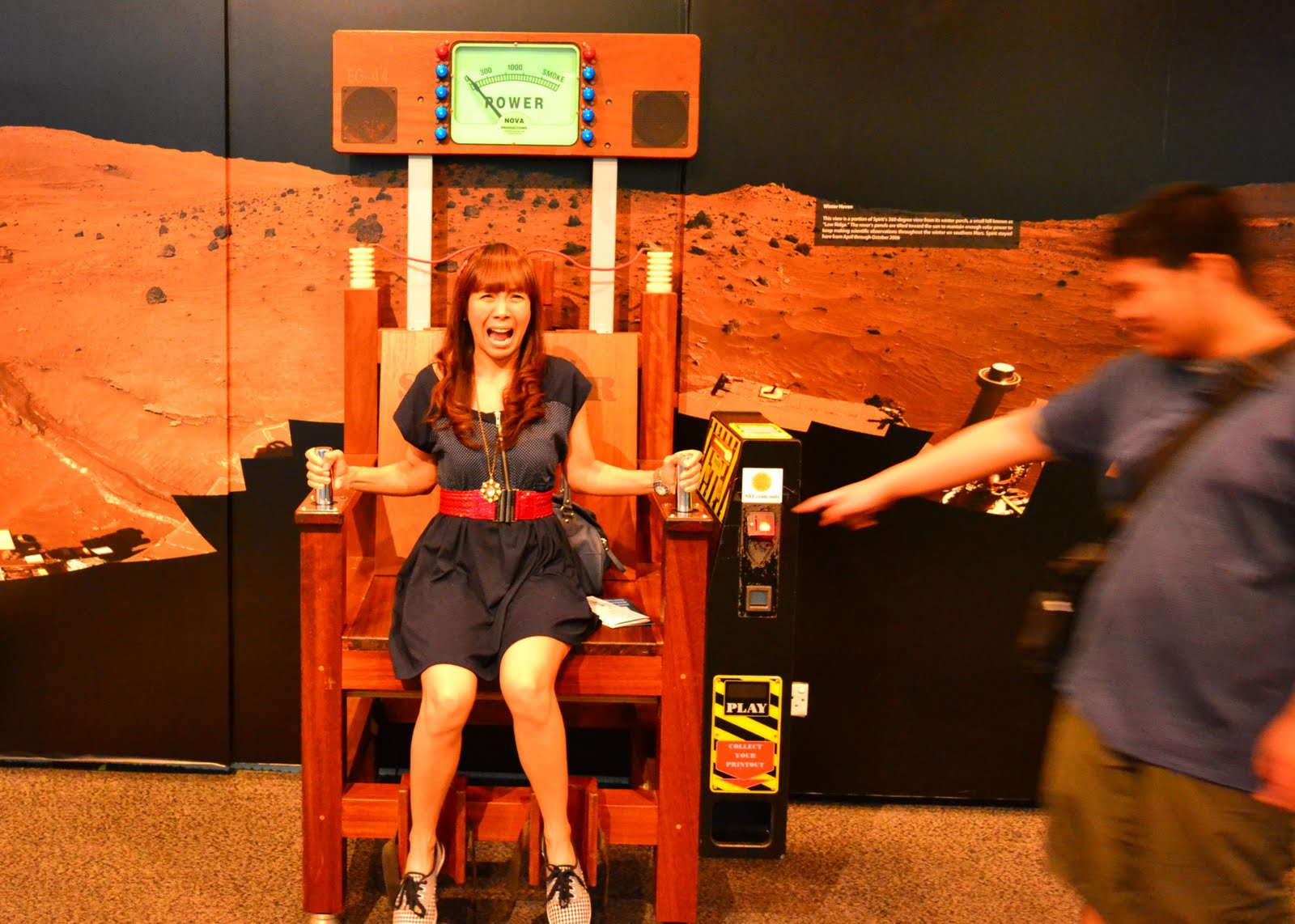 Electric Chair Was Invented By African Tribal Birthing Maria Marauder Singapore Vacay Day 4 Science And Shopping