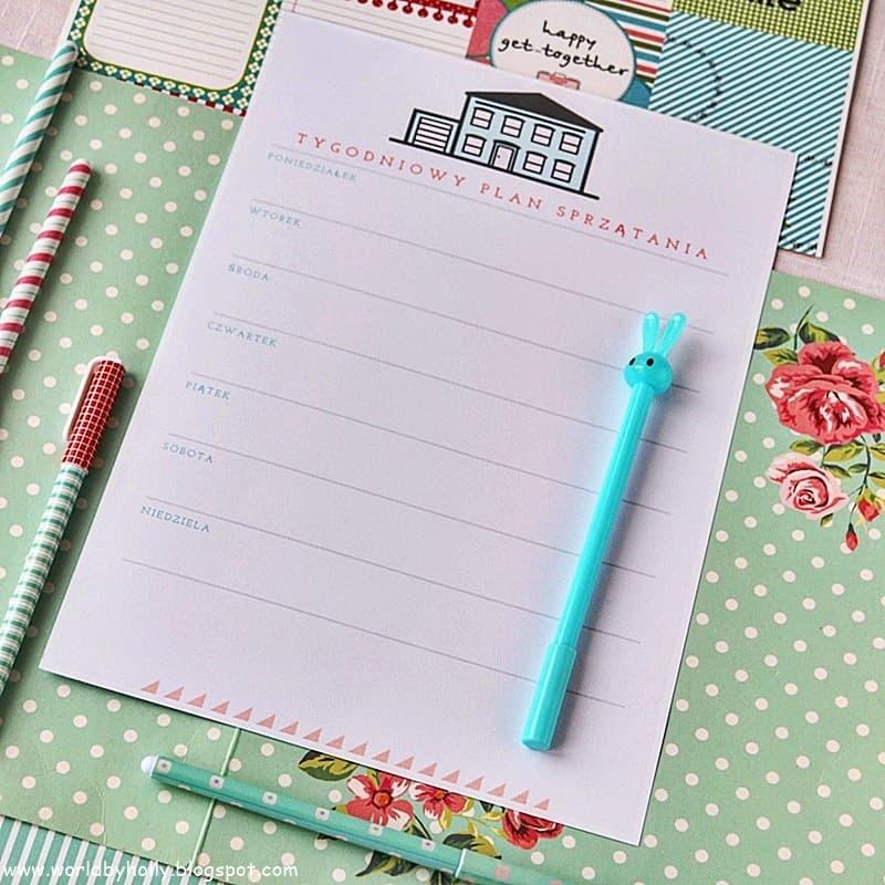 to do list, lista zadań, lista do planowania, planner dzienny, planer tygodniowy