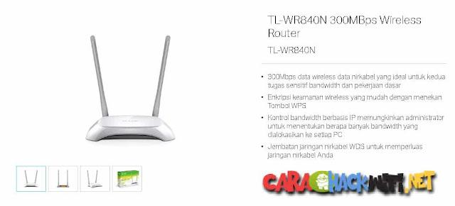 Cara Menggunakan Router TL WR840N 300Mbps