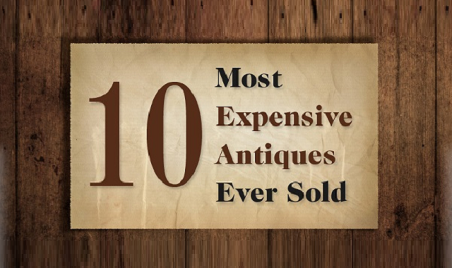 World's most expensive Antiques