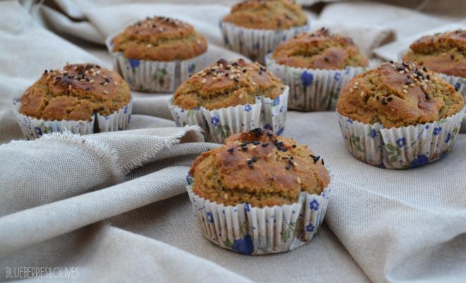 Muffins de higos, sésamo y miel 5