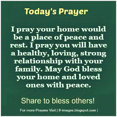 """Family Prayer 
