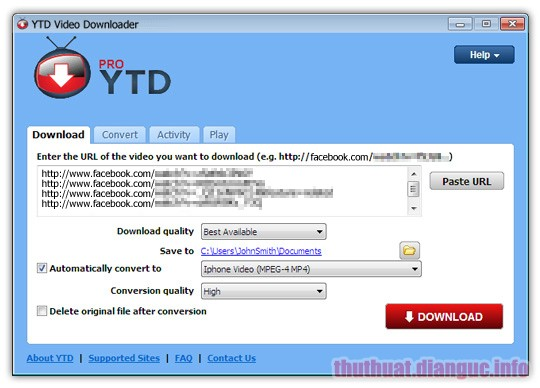 Download YTD Video Downloader PRO 5.9.13.2 Full Crack