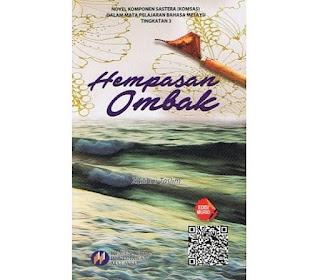 Image result for imej novel hempasan ombak