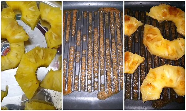 recipe for grilled pineapple slices