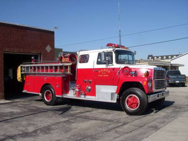 Ford L Fire Truck For Sale