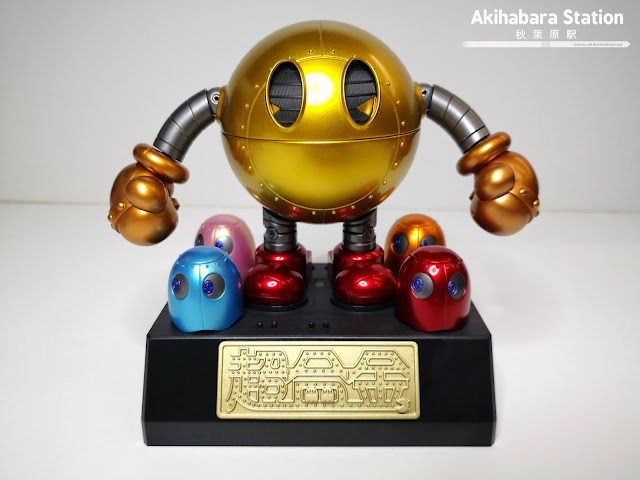 Review del Soul of Chogokin PAC-MAN, Tamashii Nation