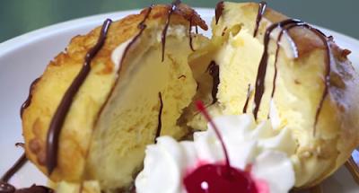Resep dan Cara Membuat Es Krim Goreng Yg Mudah