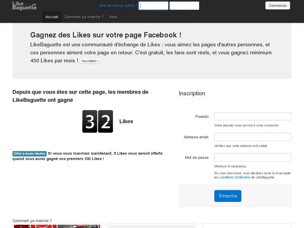 accueil facebook en francais