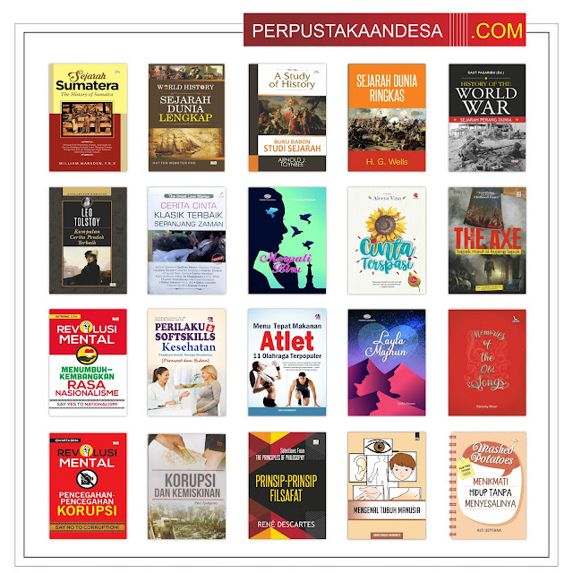 Contoh RAB Pengadaan Buku Desa Kabupaten Gowa Provinsi Sulawesi Selatan Paket 100 Juta