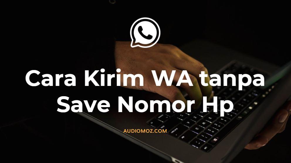 cara kirim wa tanpa save no hp