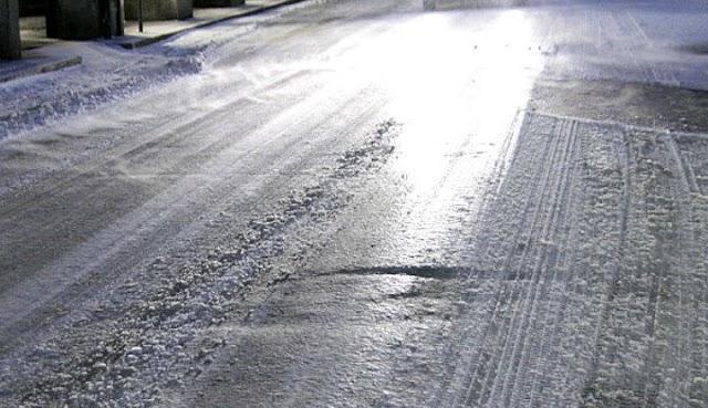 Gelo a Negrar, questa mattina strade ghiacciate. Molte le segnalazioni al Comune