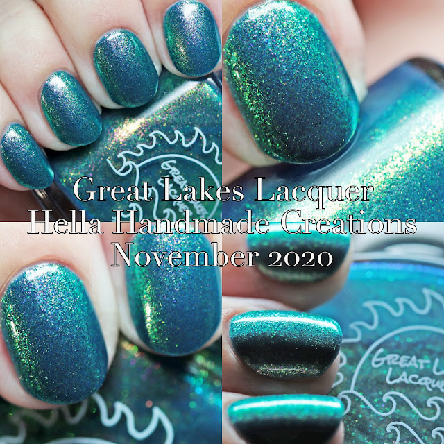 Great Lakes Lacquer Hella Handmade Creations November 2020