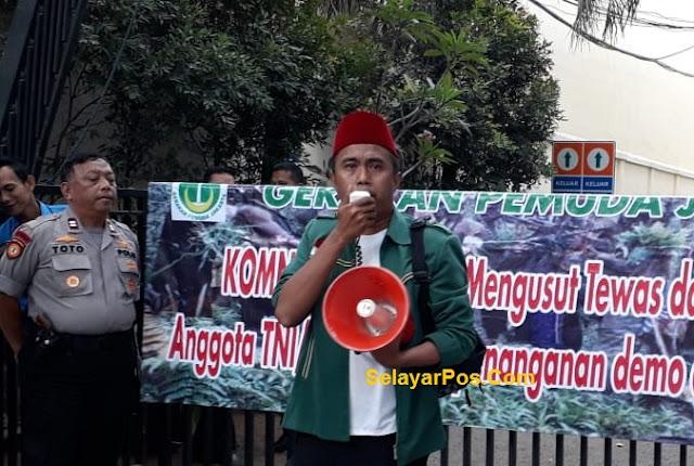 Soal Demo Mahasiswa, GPJ Sesalkan Tindakan Represif Aparat