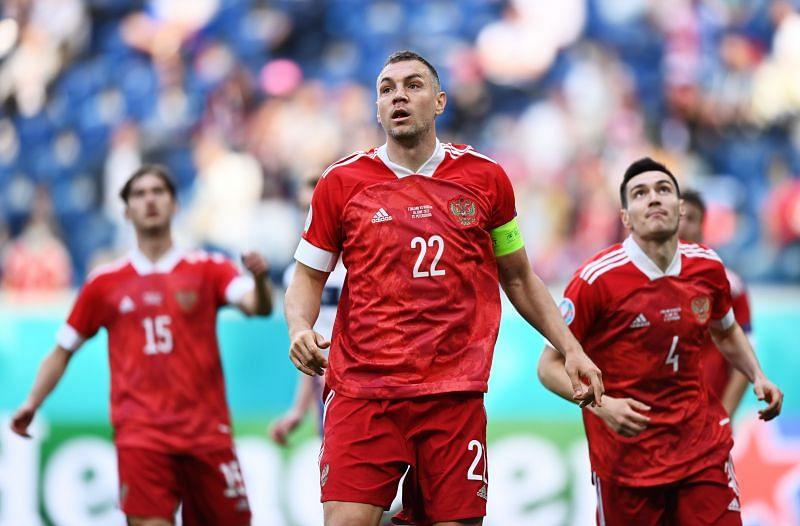 موعد مباراة روسيا والدنمارك اليوم