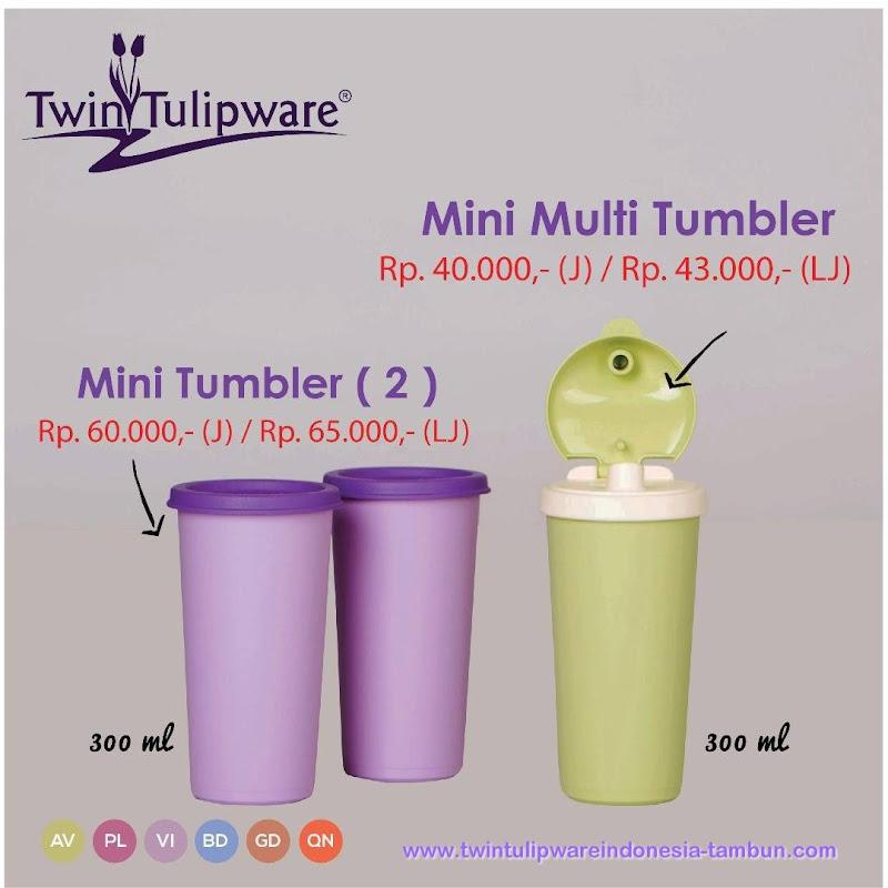 Mini Multi Tumbler - Katalog 2017 Twin Tulipware