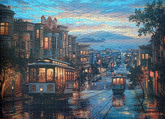 Anatolian 'San Francisco Sokakları' 1500 parça