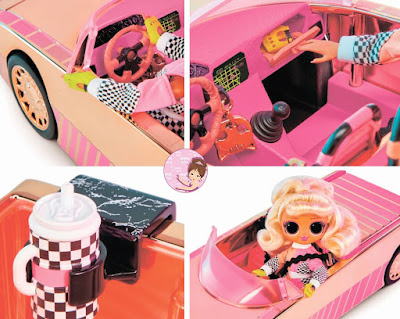 L.O.L. Surprise car playset O.M.G.