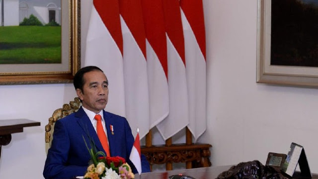 Jokowi Bongkar Penyebab Ekonomi RI Minus 5,32%