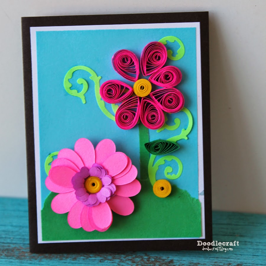 Doodlecraft Quilled Paper Cards