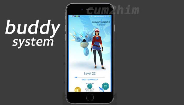 Fitur Buddy Pokemon Go