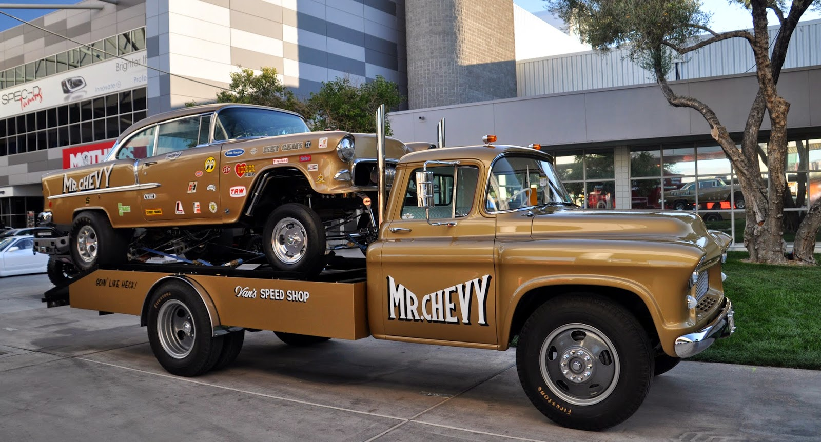 Just A Car Guy The Matched Set Gasser And Transporter