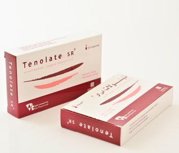 سعر واستعمال كبسولات تينولات اس ار Tenolat SR للضغط