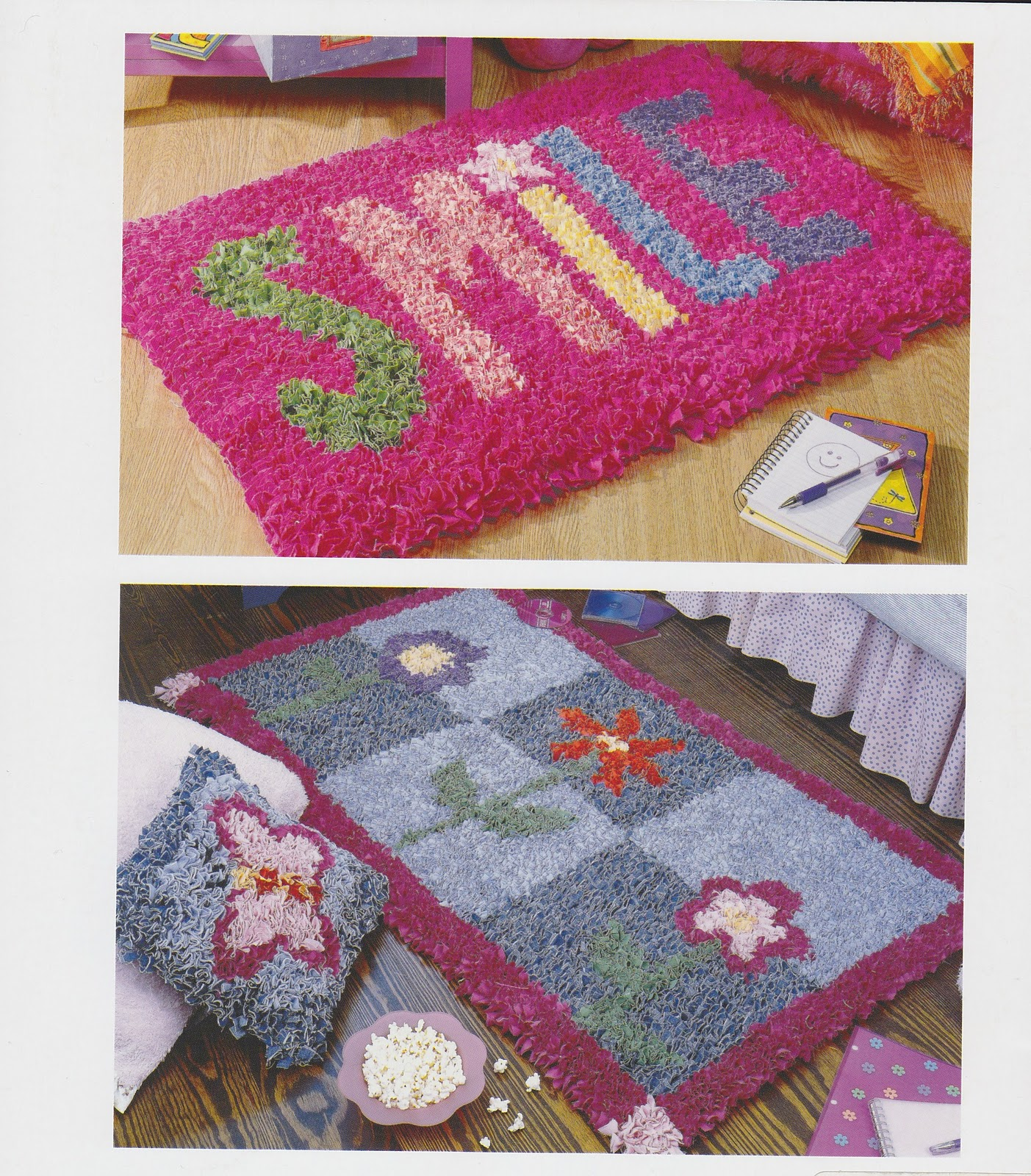 A Collective Journal: Latch Hook Rugs