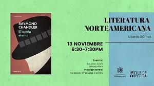 LITERATURA NORTEAMERICANA   Club de lectura